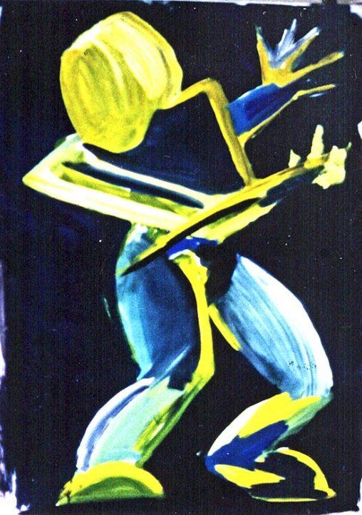 Fechter Painting